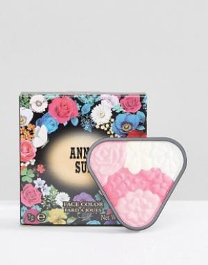 Anna Sui Румяна-хайлайтер Face Colour. Цвет: мульти