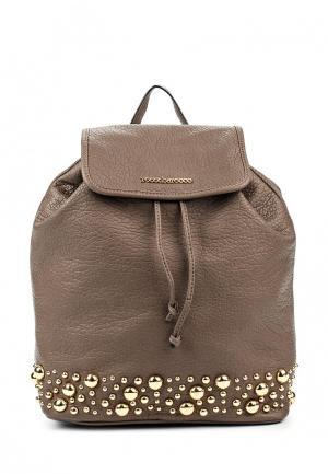 Рюкзак Roccobarocco. Цвет: коричневый
