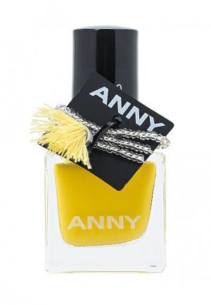 Лак Anny. Цвет: желтый