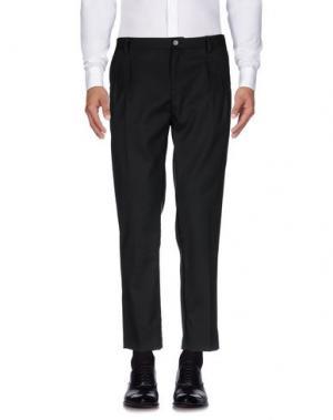 Повседневные брюки ALICE SAN DIEGO. Цвет: черный