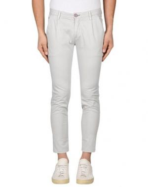 Повседневные брюки YAN SIMMON. Цвет: светло-серый