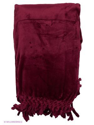 Плед 150х200 Sofi de Marko. Цвет: бордовый