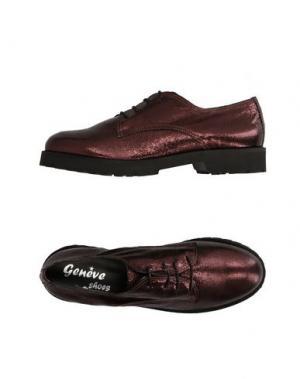 Обувь на шнурках GENEVE. Цвет: бронзовый