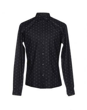 Pубашка MISERICORDIA. Цвет: черный