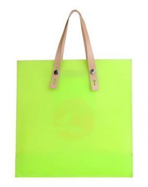 Сумка на плечо YUH BY ORCIANI. Цвет: кислотно-зеленый