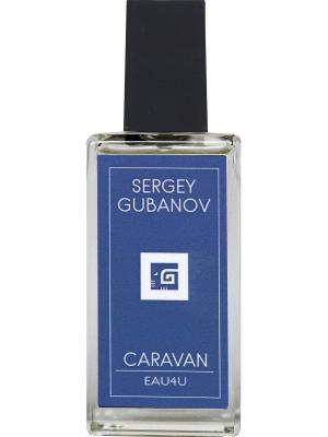 Парфюм CARAVAN 006, 30 мл Sergey Gubanov. Цвет: голубой