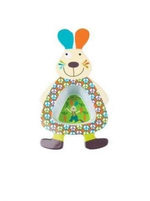 Мисочка Кролик Джефф Ebulobo. Цвет: зеленый, голубой, молочный, оранжевый, розовый, фиолетовый