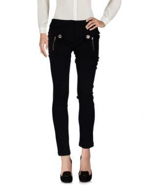 Повседневные брюки PURPLE JAM. Цвет: черный