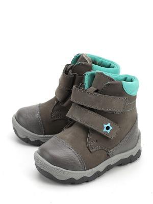 Ботинки ShagoVita. Цвет: серый