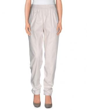 Повседневные брюки MAURIZIO PECORARO. Цвет: светло-серый