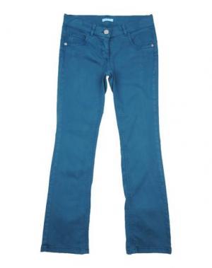 Повседневные брюки MISS GRANT. Цвет: цвет морской волны