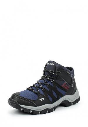 Ботинки трекинговые Patrol. Цвет: синий