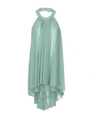 Короткое платье MALAICA. Цвет: светло-зеленый