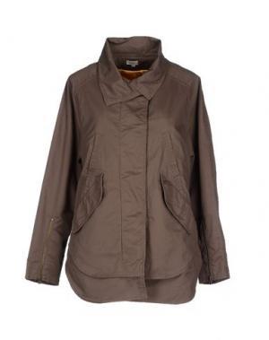 Куртка INTROPIA. Цвет: голубиный серый