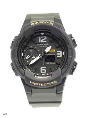 Часы Baby-G BGA-230-3B CASIO. Цвет: хаки