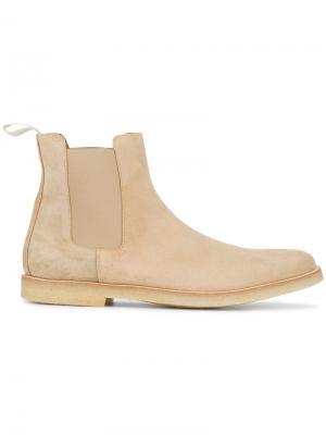 Ботинки Челси без застежки Common Projects. Цвет: коричневый