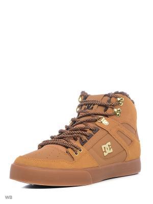 Кеды DC Shoes. Цвет: оранжевый, синий