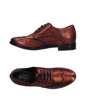 Обувь на шнурках LILIMILL. Цвет: медный