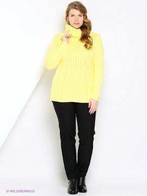 Свитер VAY. Цвет: желтый