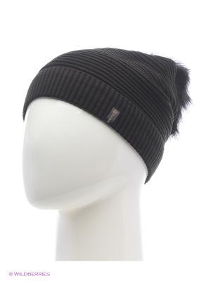 Жаклин Беркле шапка женская с помпоном Berkle. Цвет: черный