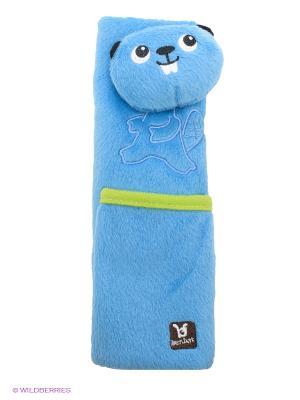 Накладка для ремня безопасности Бобёр (4-8л.) BenBat. Цвет: синий