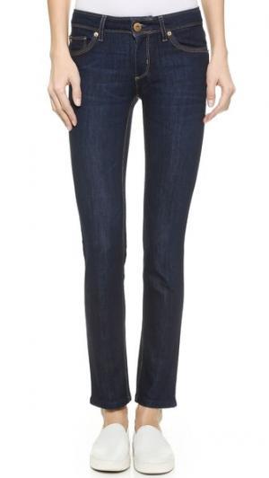 Узкие джинсы Angel DL1961. Цвет: голубой