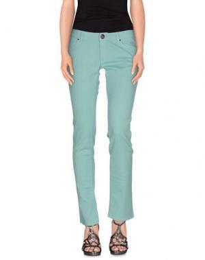 Джинсовые брюки ATELIER FIXDESIGN. Цвет: зеленый