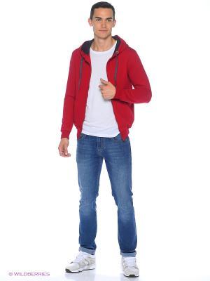 Толстовка D.S. Цвет: бордовый