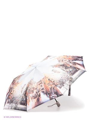 Зонт Zest. Цвет: светло-серый, светло-бежевый