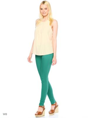 Джинсы Vero moda. Цвет: зеленый