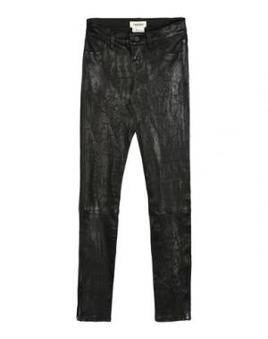 Повседневные брюки L'AGENCE. Цвет: черный