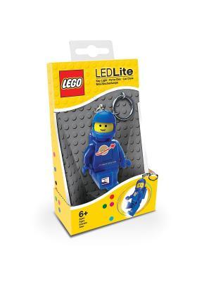 Брелок-фонарик для ключей LEGO Classic - Spaceman (цвет: синий) Lego.. Цвет: синий, желтый, золотистый, красный