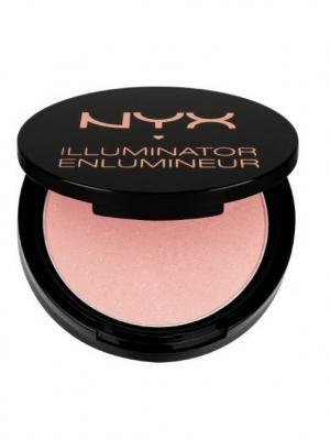 Мерцающая бронзирующая пудра ILLUMINATOR- ENIGMATIC 05 NYX PROFESSIONAL MAKEUP. Цвет: розовый