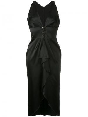 Black sails dress Manning Cartell. Цвет: чёрный