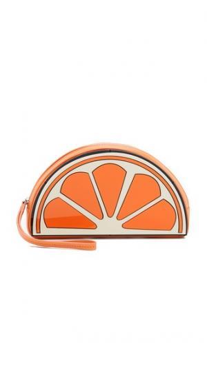 Клатч с изображением апельсина Yazbukey