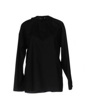Блузка TER ET BANTINE. Цвет: черный