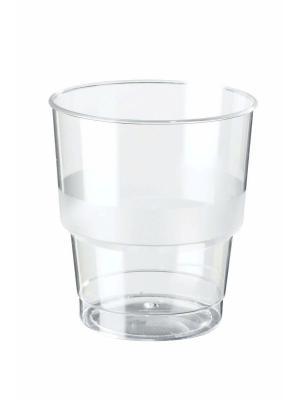 Стаканы пластиковые для горячих/холодных напитков, 250 мл. ЭКСТРА, 15 шт. DUNI. Цвет: прозрачный