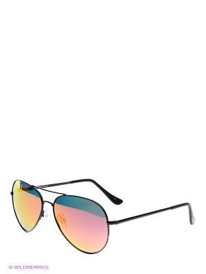 Солнцезащитные очки Legna. Цвет: черный, оранжевый