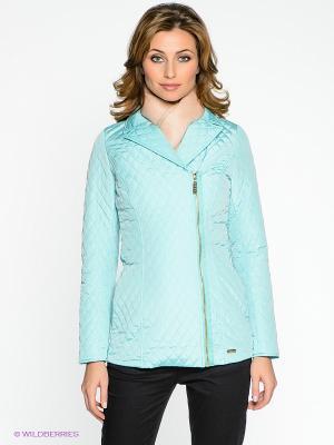 Куртка Remix. Цвет: бирюзовый