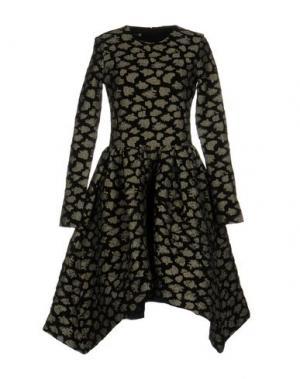Платье до колена JOURDEN. Цвет: черный