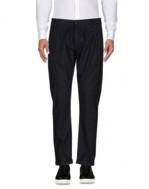 Повседневные брюки INDIVIDUAL. Цвет: стальной серый