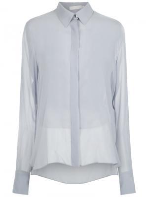 Silk shirt Giuliana Romanno. Цвет: синий