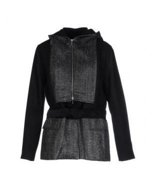 Куртка PAOLO ERRICO. Цвет: черный
