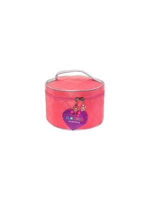 Косметичка Розовая EL CASA. Цвет: розовый