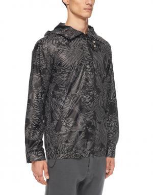 Куртка Helmut Lang. Цвет: черно-белый