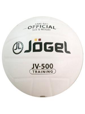Мяч волейбольный Jogel JV-500. Цвет: белый