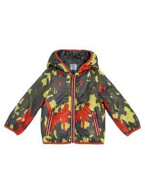 Куртка CHICCO. Цвет: желтый