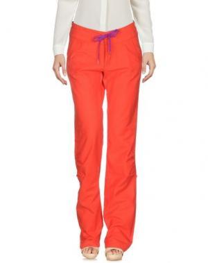 Повседневные брюки MARMOT. Цвет: красный