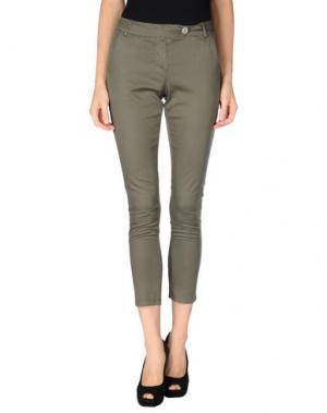 Повседневные брюки CHILI PEPPERS. Цвет: зеленый-милитари