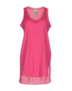 Короткое платье JIJIL. Цвет: фуксия